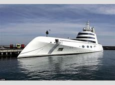 Melnichenko puts Motor Yacht A up for sale Daily Mail Online