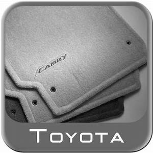 2007 2011 toyota camry carpeted floor mats grey for 2009 toyota camry floor mats