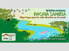 Vota por pacaya Samiria como mejor lugar para la vida