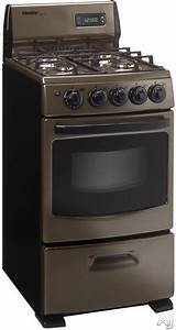 20 Inch Freestanding Gas Range With 2 62 Cu  Ft  Manual