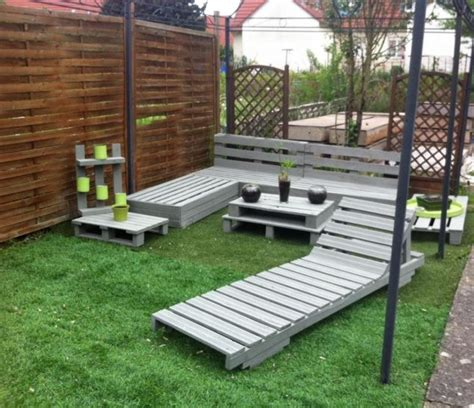 cool diy outdoor furniture   pallet
