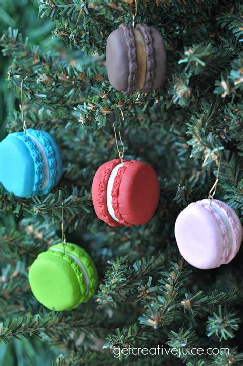 tutorial french macaron ornaments creative juice