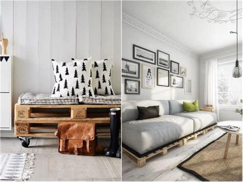 canapé palette bois idee deco palette 20 inspi pour réinventer intérieur