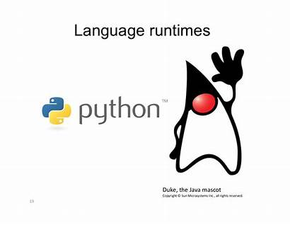 Java Duke Mascot Language