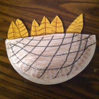god helped ruth  naomi bible craft childrens bible