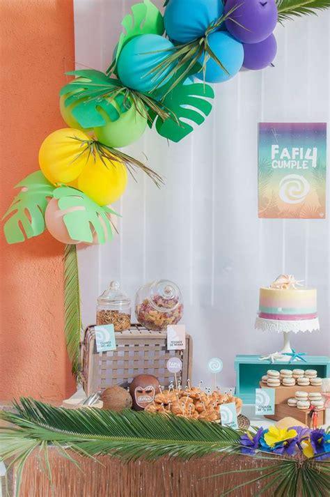 moana tropical birthday party birthday party ideas themes