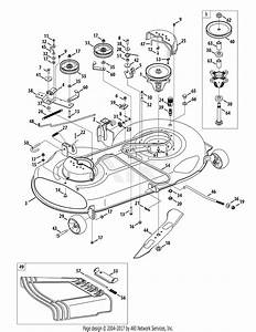 Troy Bilt 13wx79kt066 Horse  2010  Parts Diagram For Mower