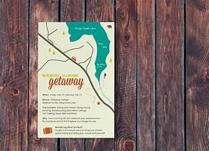30th Birthday Getaway Invitation On Behance