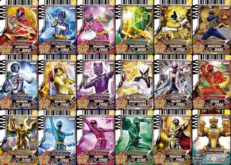animal kaiser   card games power rangers card