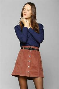 1000+ images about mini skirts buttons on Pinterest | Mini skirts Skirts and How to wear