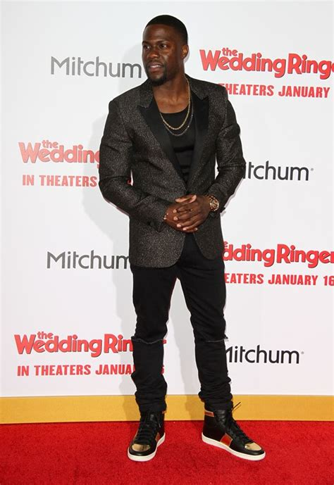kevin hart at the premiere of the wedding ringer lainey gossip entertainment update