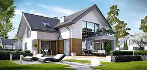 Einfamilienhaus 200 M2 : komforna ku a sa potkrovljem i gara om detaljan plan ~ Lizthompson.info Haus und Dekorationen