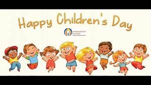Ambassador School Children's Day Celebration - YouTube