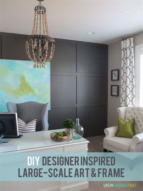 diy large scale art designer inspired life