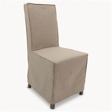 Dining Chairs With Loose Covers by St James Loose Cover Beige Dining Chair Seating One