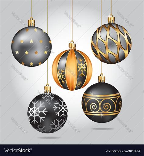 black christmas ornaments doliquid