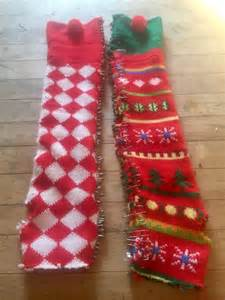 friday reblog no sew diy ugly christmas sweater arm