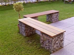 Gitter Für Steine : b nke und individuelle sitzgelegenheiten aus gabionen ~ Michelbontemps.com Haus und Dekorationen