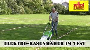 Rasenmäher Test Elektro : elektro rasenm her im test youtube ~ A.2002-acura-tl-radio.info Haus und Dekorationen