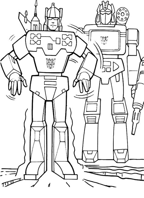 autobot coloring pages  boys  print