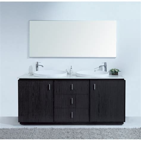 double sink vanity top 72 cheshire 72 inch modern double sink vanity faux marble top