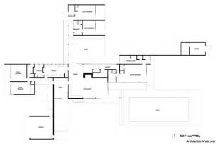 desert home plans kaufmann desert house ground floor plan