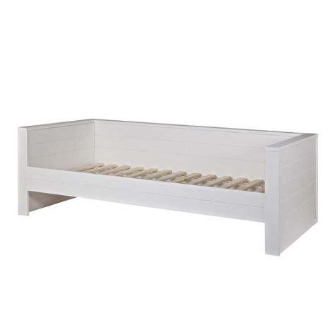 banquette chambre cadre de lit 1 place banquette en bois fsc denis drawer fr