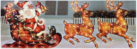 outdoor christmas decorations pre lit gift boxes for