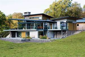 A Steel Frame and Stone Home Homebuilding & Renovating
