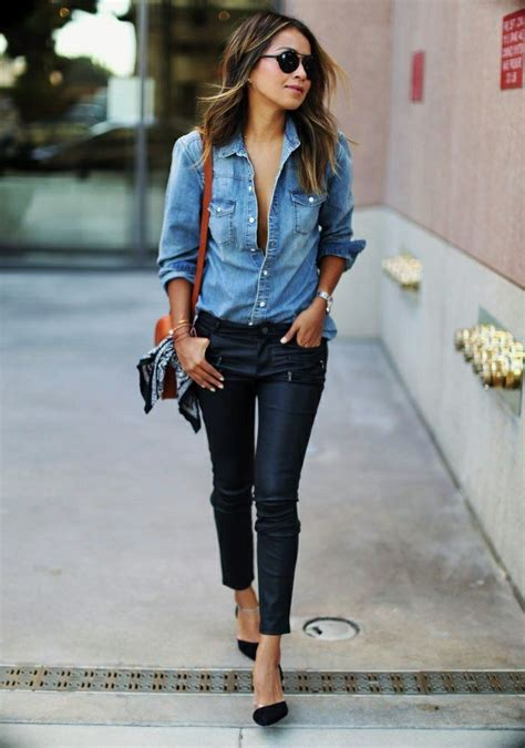 les 25 meilleures id 233 es concernant chemises en jean sur