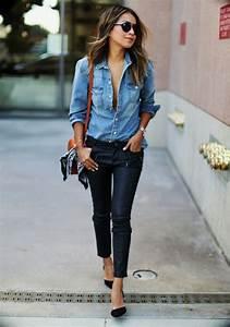 les 25 meilleures idees concernant chemises en jean sur With en mode tendance