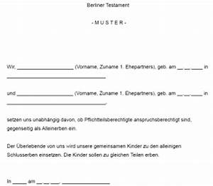 Berliner Testament Beispiel : rechtsanw lte zum fachgebiet berliner testament ~ Orissabook.com Haus und Dekorationen