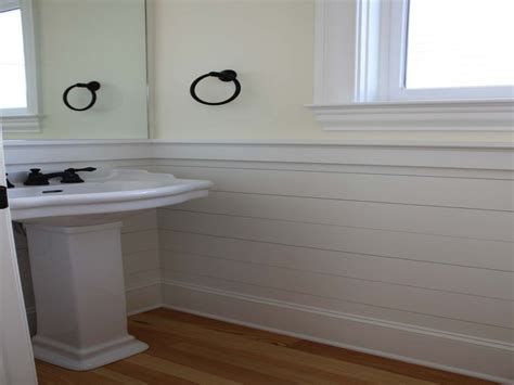 Bathroom Bathroom Shiplap Wainscoting Pictures