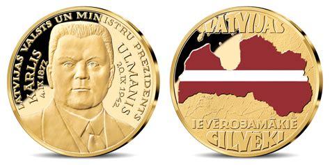 Latvijas Monētu nams izdod piemiņas medaļu Kārlim Ulmanim ...