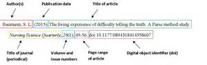 How To Cite Websites How To Cite Multimedia How To Cite Databases APA Style Citing Your Sources Research Guides At Whittier College APA Referencing How Do I Reference An APA 6 Parenthetical Citations We Us