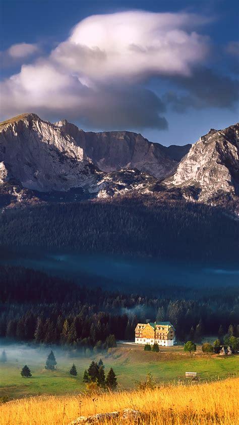 durmitor national park mountain landscape montenegro