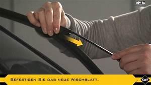 SWF Visioflex - Montage eines Scheibenwischers - Anleitung ...