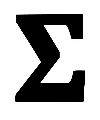 greek letter sigma black letter sigma wall stickers decals graphics 22044 | yhst 73168205485280 2264 2278247