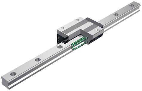 recirculating range profile rail guides thk skf linear guides acorn