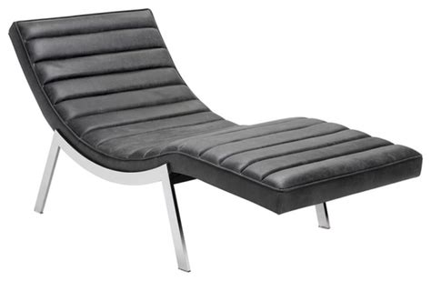 leather chaise lounge chairs indoors modern chaise in top grain leather modern indoor