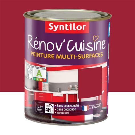 leroy merlin renovation cuisine peinture de rénovation rénov 39 cuisine syntilor gaspacho 1