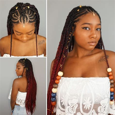 plait hair style lemonade tribal braids cornrow styles dayelasoul braid 5053