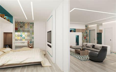 Loft Der Moderne Lebensstilloft Einrichtung In Weiss by Loft Einrichtung 4 Ein Zweiraumwohnungen Als Inspiration