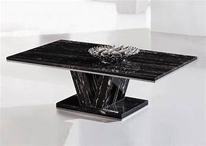 black marble top coffee table With dark marble coffee table