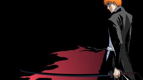Download the background for free. Bleach, Kurosaki Ichigo, Anime Boys, Orange Hair, Black ...