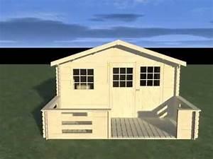 Abri De Jardin Avec Terrasse : abri de jardin bois avec terrasse decor et jardin ~ Dailycaller-alerts.com Idées de Décoration
