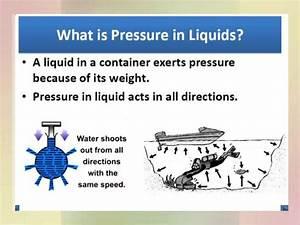 3 2 Pressure In Liquid