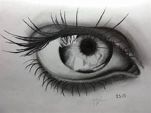 Drawn Tears Eye Hd