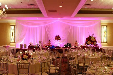 Rental Decorations For Wedding Receptions - diy uplighting
