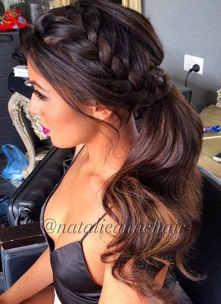 Fancy Side Ponytail Hairstyles by Best 25 Side Ponytail Hairstyles Ideas On
